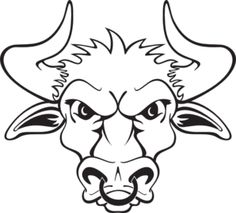 Bull clipart friendly Online With Bull drawing ehbmxceb