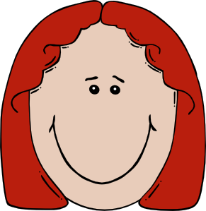 Ginger clipart woman  Clip Face Cartoon com