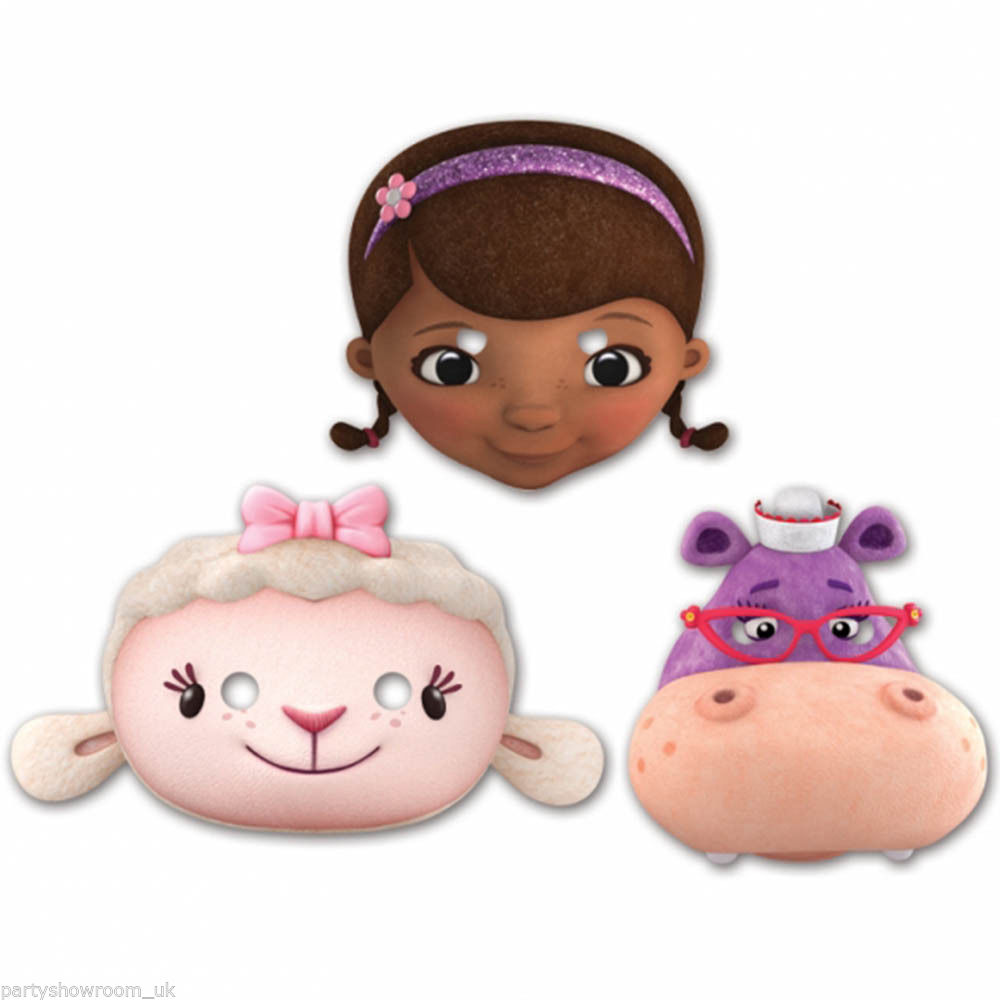 Face clipart doc mcstuffins Doc 6 Face Disney Masks