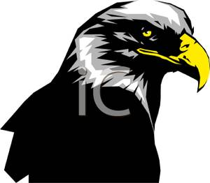 Bald Eagle clipart face A Eagle Close Image: Art