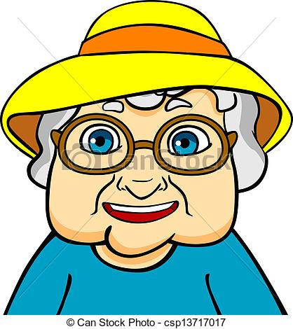 Old clipart abuela Grandmother and  Illustrations Stock