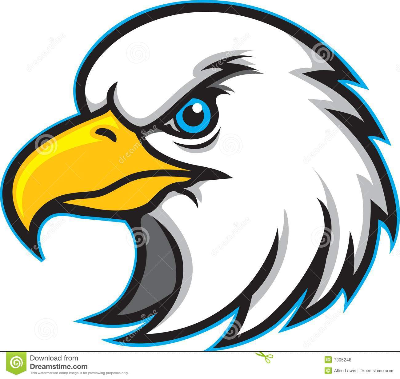 Beak clipart turkey Eagle Download Clipart Mascot Logo
