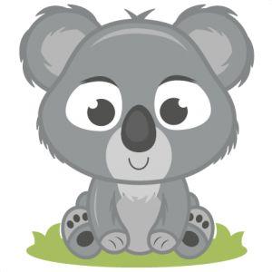Wildlife clipart cute koala Clipart koala Collection Clipart clip