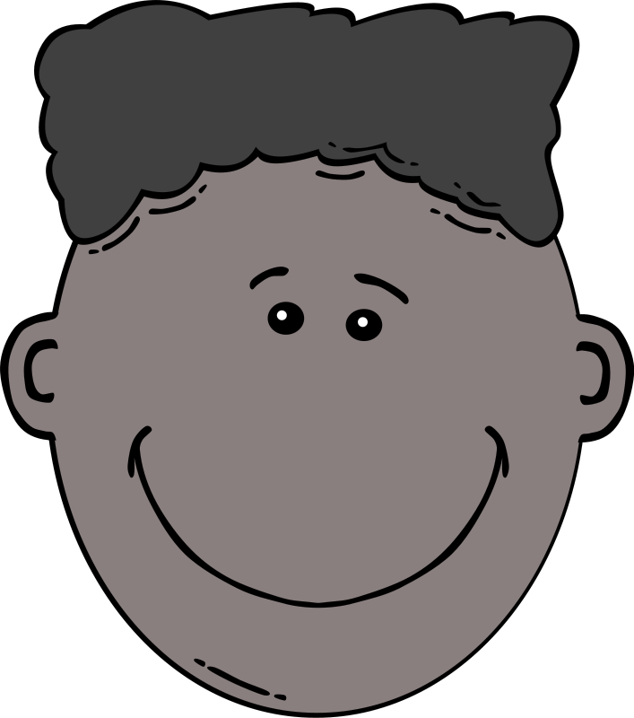 Sad clipart black boy #11