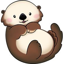 Otter clipart cute In Clip the Art Image