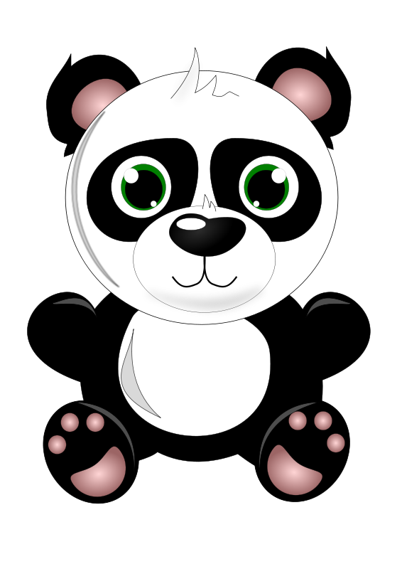 Paw clipart baby bear The Clipart Panda panda collection