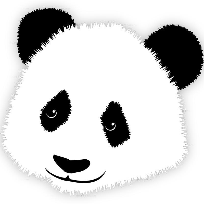 Red Panda clipart panda head #3
