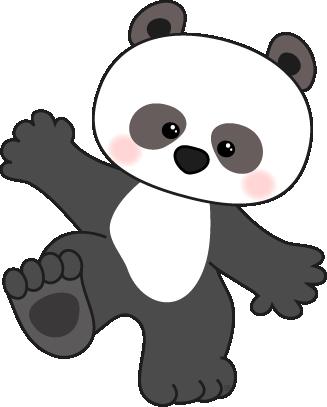 Simple clipart panda Panda Free teddy 2 scrapbooking