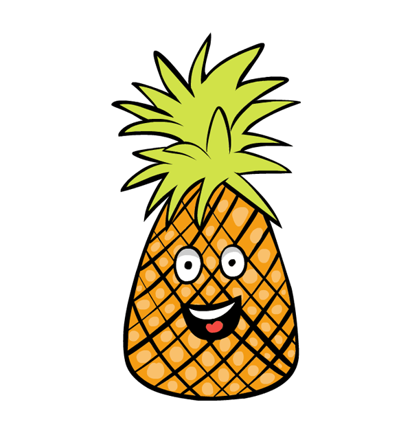 Pineapple clipart hawaiian Free images art clipartwiz Pineapple