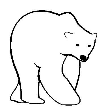 Cartoon clipart polar bear Clip clipart bear clip collection