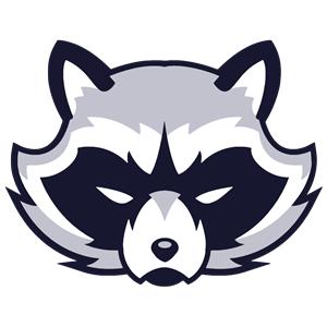 Raccoon clipart face Animal Face Raccoon Logo