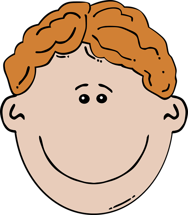 Blonde clipart face Collection clipart Boy Free images