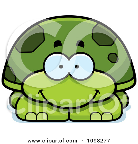 Sea Turtle clipart turtle face #12