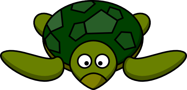 Sea Turtle clipart turtle face #5
