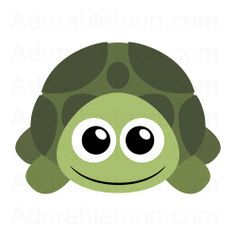 Sea Turtle clipart turtle face #4