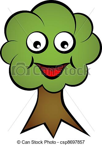 Face clipart tree #13