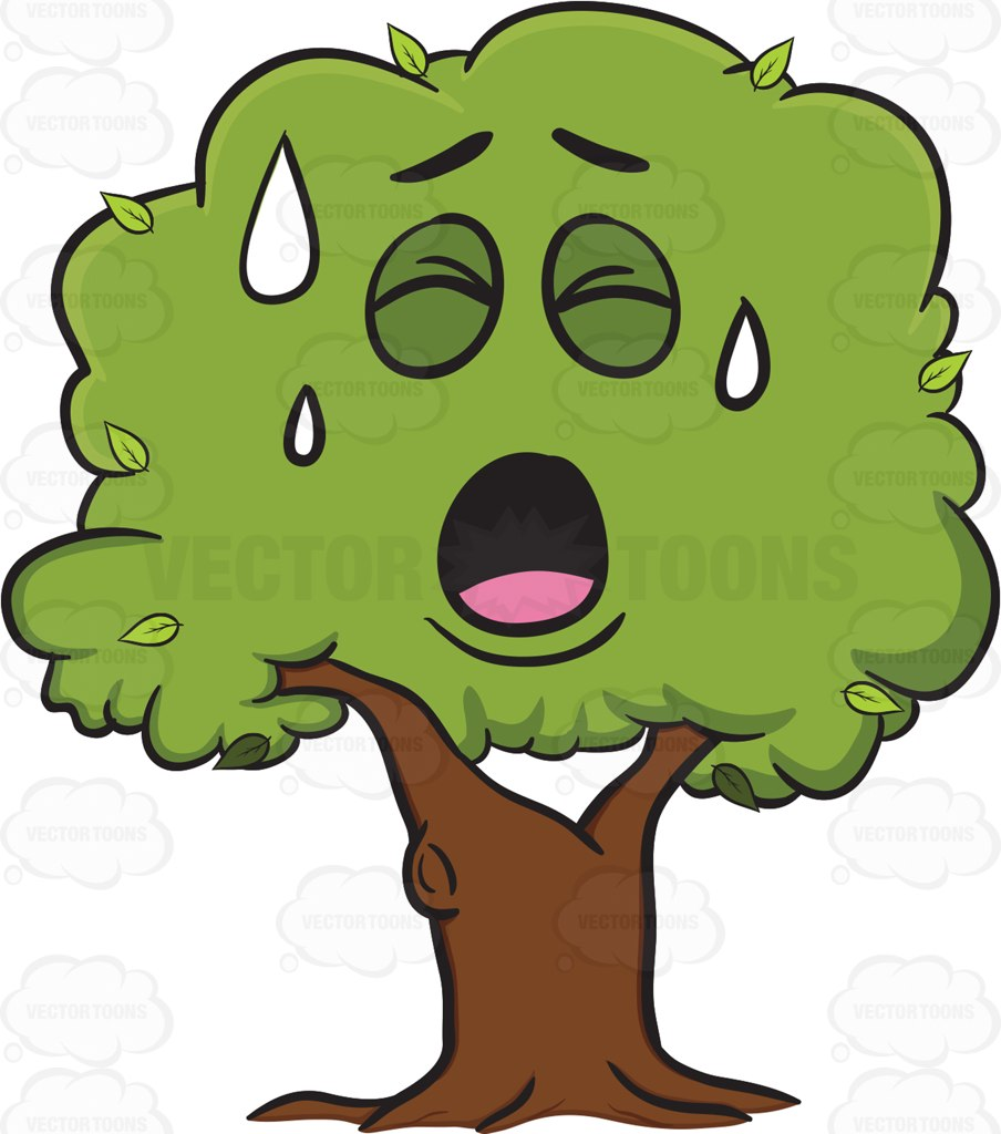 Face clipart tree #15