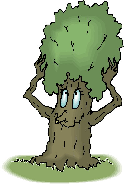 Face clipart tree #7