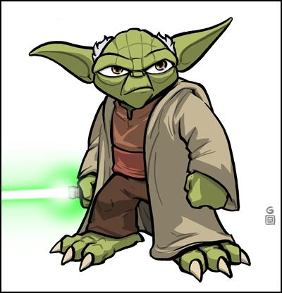 Luke Skywalker clipart drawing  Comic Vine Yoda Enemies