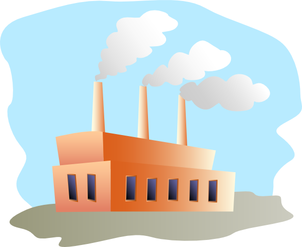 Smog clipart cloud shape Clker Clip at Factory vector