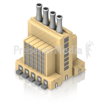 Factory clipart 3d factory ID# Smoking Factory Clipart Factory