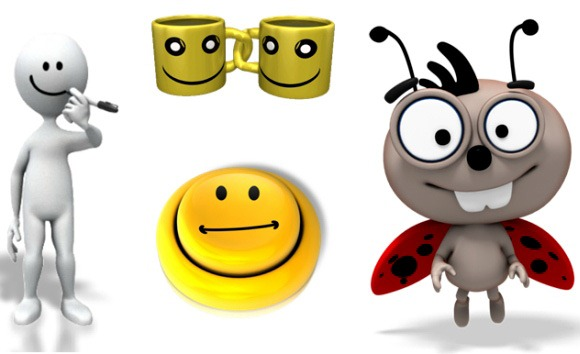 Moving clipart powerpoint presentation Smiley free Animated animations Animation