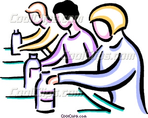 Factory clipart assembly worker Line assembly Workers Vector art