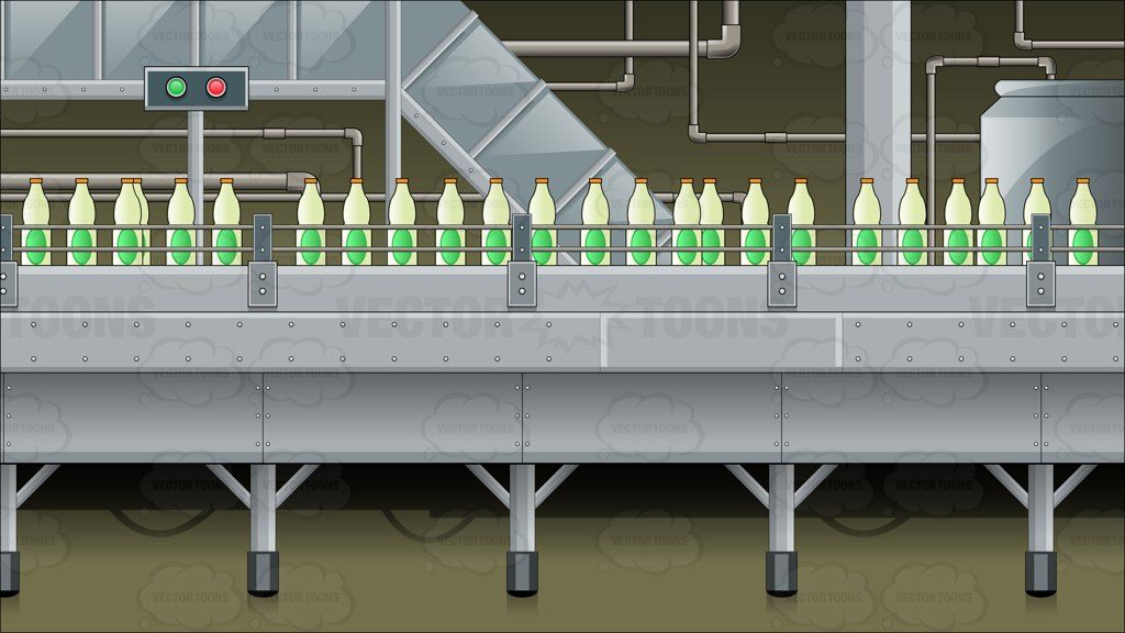 Factory clipart background Clipart Cartoon And Bottle