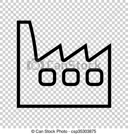 Factory clipart background On sign Factory of