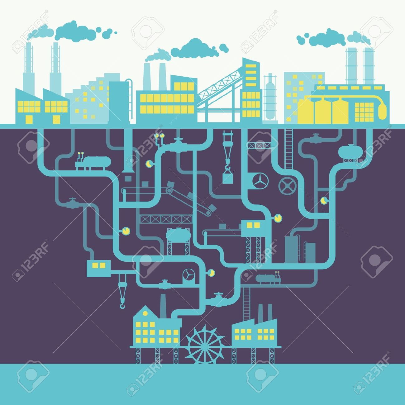 Factory clipart background 27147312 background or factory manufacturing
