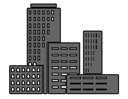 Professional clipart black and white Building art clip professional Pictures