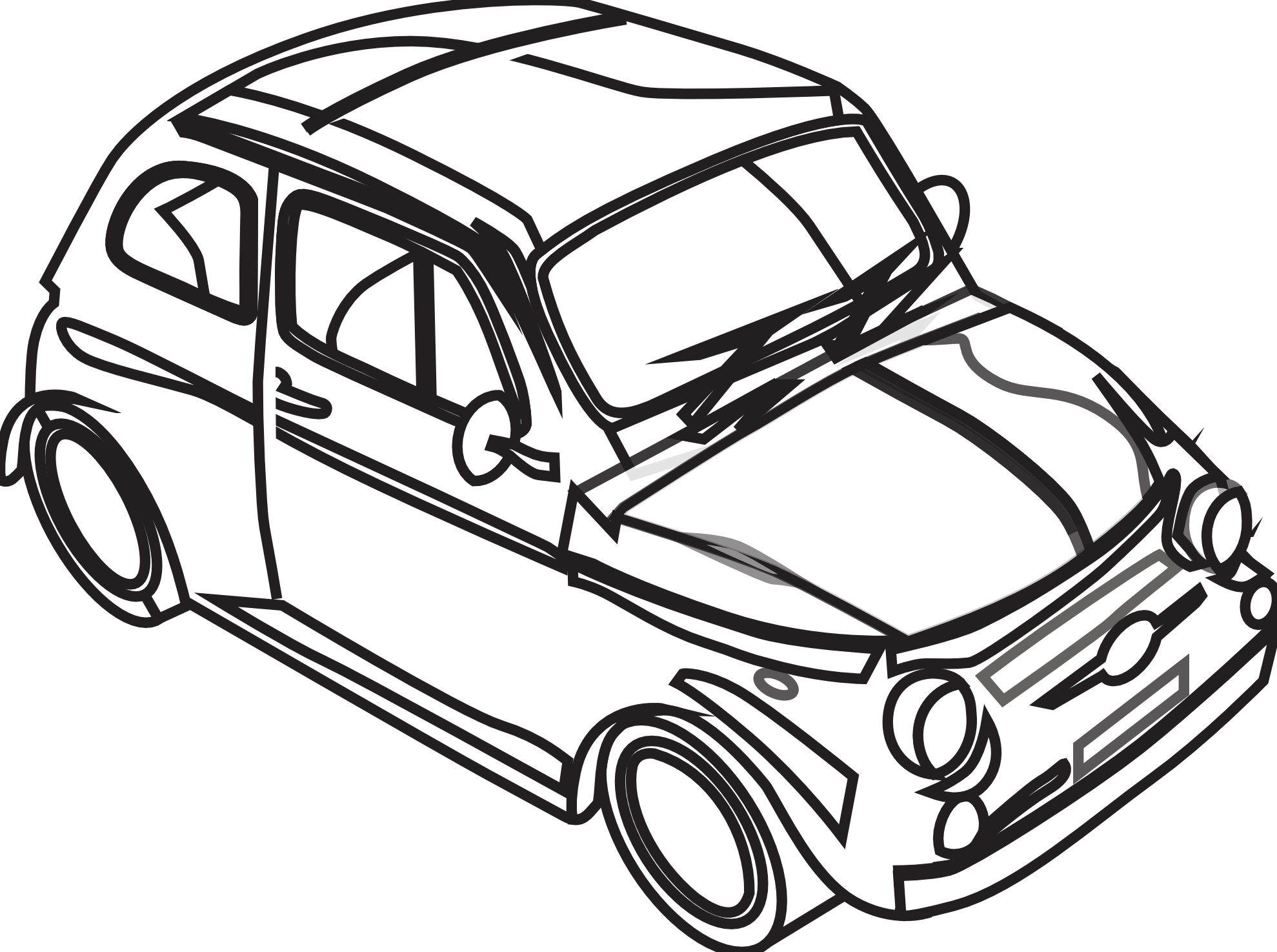 Line Art clipart car Art White Free Drawings Clipart