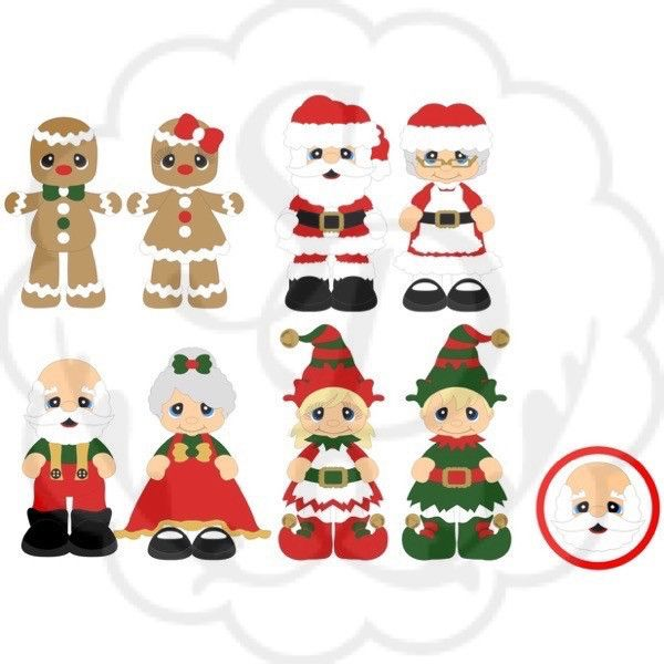 Factory clipart christmas Pack Doll Expansion on
