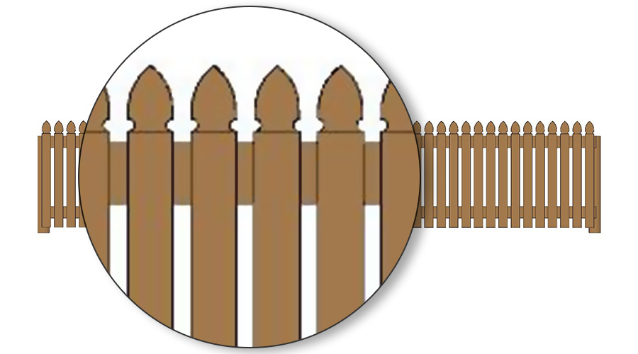 Factory clipart colonial Timber Fencing 0  75mm