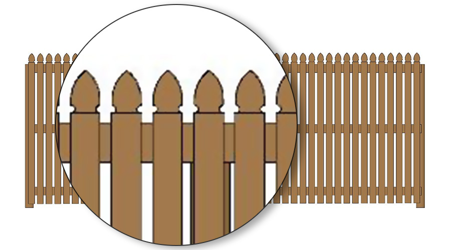 Factory clipart colonial Timber Fencing 1  75mm