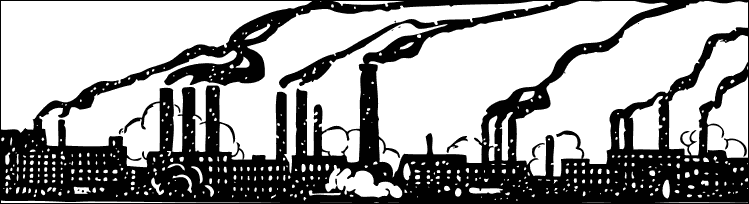 Factory clipart contamination Industrial Masteri pollution Revolution Factories