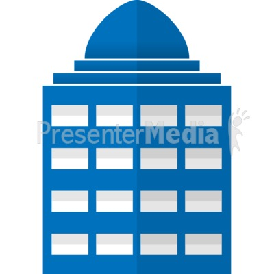 Office clipart city building #3