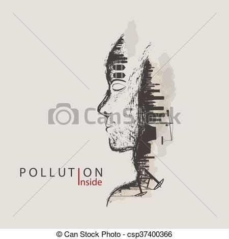Factory clipart environmental pollution By of environmental environmental factories