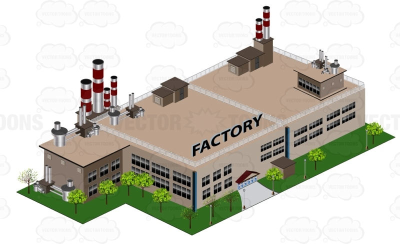 Factory clipart factory building Cliparts Building building Clipartme Factory