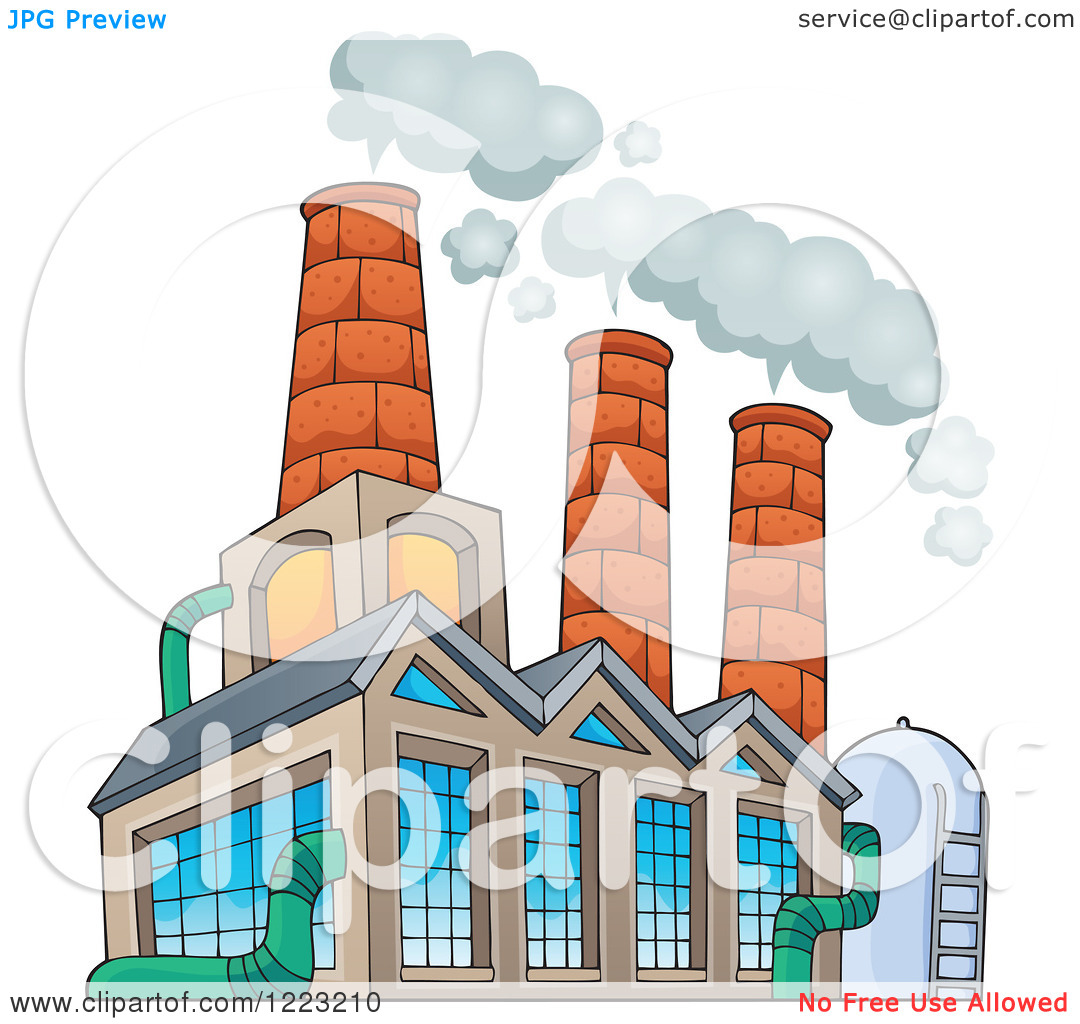 Factory clipart factory building Clipart Info Factory Clipart of