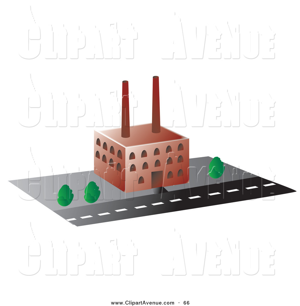 Factory clipart factory building Building of Rasmussen by Clipart