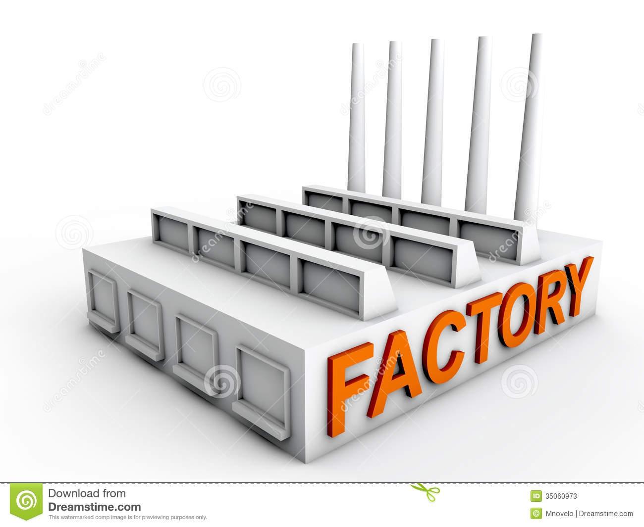 Factory clipart factory building Clipart#2130902 Plant building clipart Factory