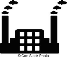 Factory clipart factory symbol Factory smoke icon contamination