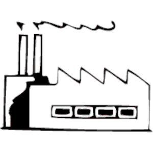 Factory clipart factory symbol Factory Symbol  Map