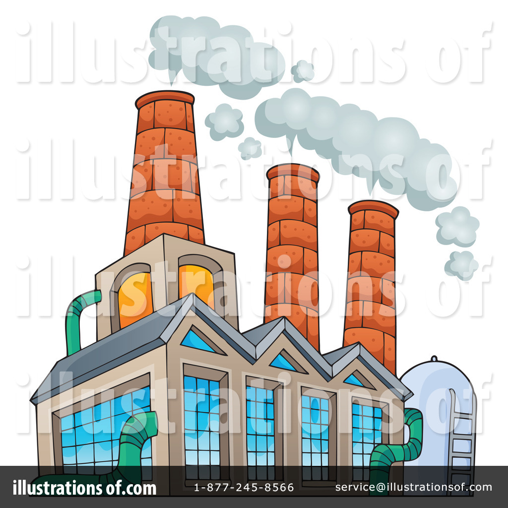 Factory clipart factory warehouse Royalty visekart Illustration #1223207 Free