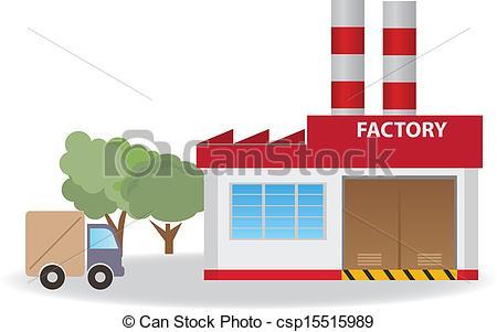 Warehouse clipart Warehouse Factory clip art Clipart
