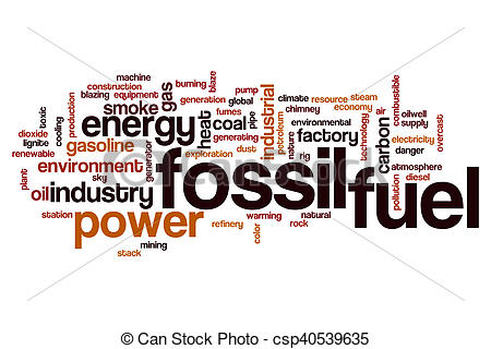 Factory clipart fossil fuel Drawings csp40539635 of cloud concept