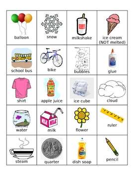 Factory clipart gas matter Too! flippy Science and solids