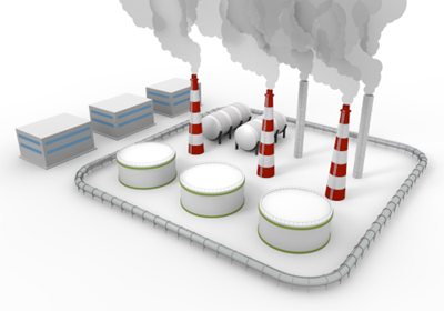 Factory clipart industrial area Illustration Chimney Region Illustration Illustration
