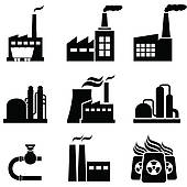 Factory clipart industrial area And Free plants Clip Power